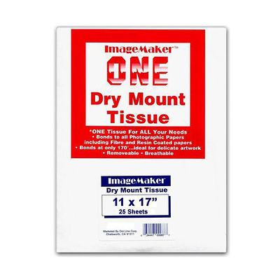 11 x 17in. Dry Mount Tissue (25 Sheets) Image 0