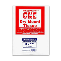 Dot Line Corp. 11 x 17in. Dry Mount Tissue (25 Sheets)