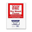 Dot Line 11 x 17 Dry Mount Tissue (25 Sheets)