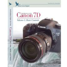 Blue Crane Digital Introduction to the Canon 7D Training DVD - Volume 1: Basic Controls