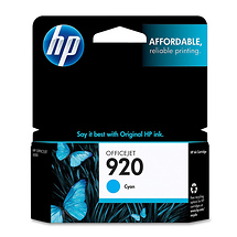 Hewlett Packard HP 920 Cyan Officejet Ink Cartridge