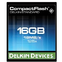 Delkin Devices 16GB Standard 125x CompactFlash Card
