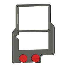 Z-Finder Mounting Frame for Large DSLR Cameras Image 0