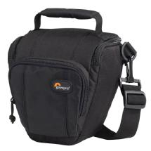 Lowepro Toploader Zoom 45 AW Bag (Black) - FREE GIFT with Qualifying Purchase