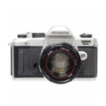 Promaster 2500PK Super SLR Camera with 50mm 1.7 Lens