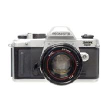 Promaster 2500PK Super SLR Camera with 28-70mm Zoom Lens