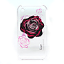 ICC716 Plastic Case with Flower Graphics for iPhone