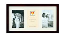 Dennis Daniels Wood Frame for 3 - 4 x 6 Photos (Walnut)