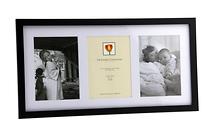Dennis Daniels Wood Frame for 3 - 5 x 7 Photos; Mat - Ebony