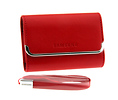 Slim Horizontal Leather Case (Red)