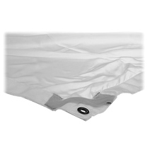Matthews 20 x 20 ft. Butterfly/Overhead Fabric (White 1/4 Stop Silk)