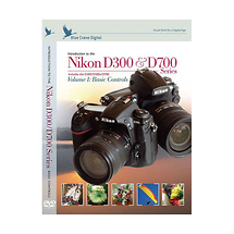 Blue Crane Digital Introduction to the Nikon D300 & D700 Training DVD (Volume 1 Basic Controls)