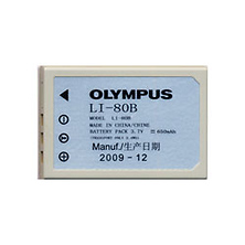 LI-80B Rechargeable Lithium-Ion Battery for Select Olympus Cameras Image 0