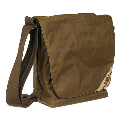F-831 Small Photo Courier Bag (Brown RuggedWear) Image 0