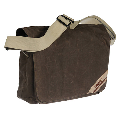 F-832 Medium Photo Courier Bag (Brown RuggedWear) Image 0