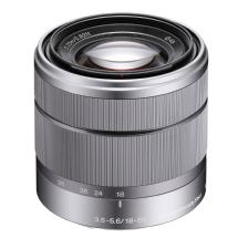 Sony 18-55mm f/3.5-5.6 Zoom Lens for Alpha NEX Cameras (Silver)