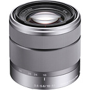 Sony | 18-55mm f/3.5-5.6 Zoom Lens for Alpha NEX Cameras (Silver) | SEL1855