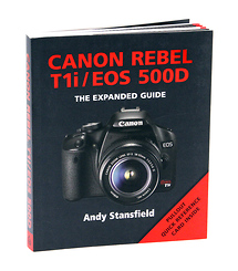 Ammonite Press The Expanded Guide on Canon Rebel T1i Camera - Book