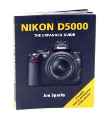 Ammonite Press The Expanded Guide on Nikon D5000 Camera - Book
