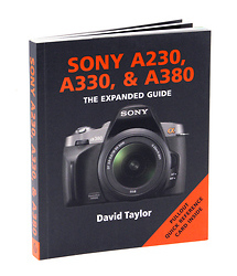 Ammonite Press The Expanded Guide on Sony A230, A330 & A380 Cameras - Book