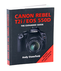 Ammonite Press The Expanded Guide on Canon Rebel T2i Camera - Book
