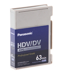 Panasonic AY-HDVM63AMQ Mini HDV/DV/DVCAM Compatible Advanced Master Cassette