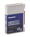 Panasonic | AY-HDVM63AMQ Mini HDV/DV/DVCAM Compatible Advanced Master Cassette | AY-HDVM63AMQ