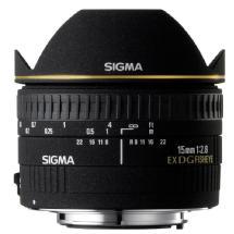 Sigma AF 15mm f/2.8 EX DG Diagonal Lens - Nikon Mount