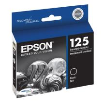 Epson 125 Black DURABrite Ultra Ink Cartridge