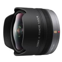 Panasonic 8mm f/3.5 Lumix G Fisheye Lens