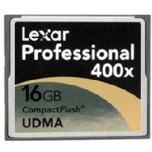 Lexar Media 16GB Platinum II 400x CompactFlash Memory Card