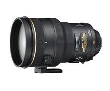 Nikon AF-S NIKKOR 200mm f/2.0G ED VR II Telephoto Lens