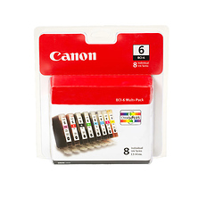 BCI-6 Ink Cartridge Multi Pack (8 Cartridges) Image 0
