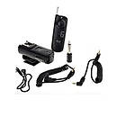 3-in-1 Wireless Remote Control Kit Canon Rebel (2.5mm)