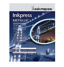 Inkpress 11 x 17in. Metallic Photo Paper (25 Sheets)