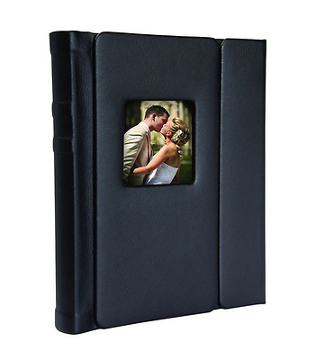 Neil 8 X 10 Overlapping Cover Self Stick Photo Album 6881m10