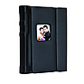 5 x 7in. Overlapping Cover Self-Stick Photo Albums - Black