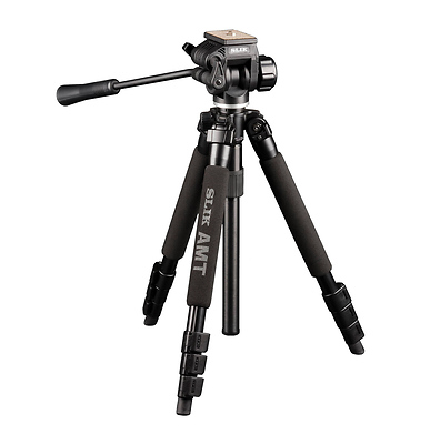 PRO-340DX Tripod with 504QF Head Image 0