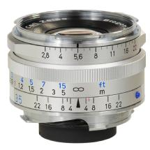 Zeiss 35mm f/2.0 Biogon T* ZM MF Lens (Leica M-Mount) - Silver