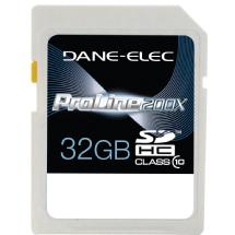 Dane-Elec 32GB Class 10 Secure Digital (SD) Memory Card