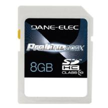 Dane-Elec 8GB Class 10 Secure Digital (SD) Memory Card