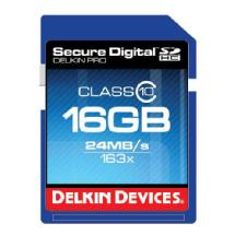 Delkin Devices 16GB Pro 163x Class 10 SDHC Memory Card