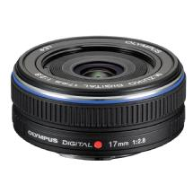 Olympus Zuiko 17mm f/2.8 Digital Lens (Black)
