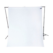 9 x 10 ft. Wrinkle-Resistant Cotton Backdrop (Hi Key White)
