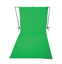 9 x 20 ft Wrinkle-Resistant Cotton Backdrop (Chroma Key Green) Image 0