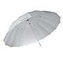 7ft White Diffusion Parabolic Umbrella