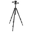 294 Aluminum 3-Section Tripod with 3-Way Head