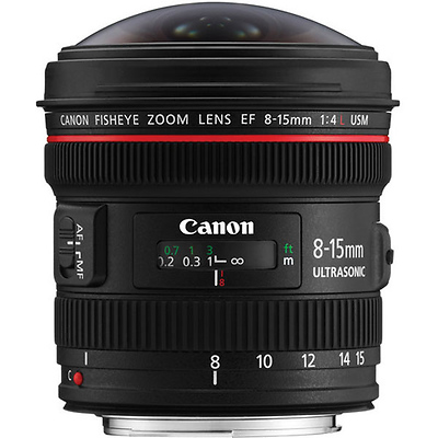 EF 8-15mm f/4.0L Fisheye USM Fisheye Ultra-Wide Zoom Lens Image 0
