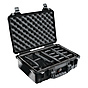 Pelican 1500 Case with Dividers (Black)