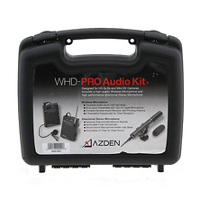 WHD-PRO Pro Series Stereo Directional Microphone & Wireless Lapel Audio System Kit Image 0